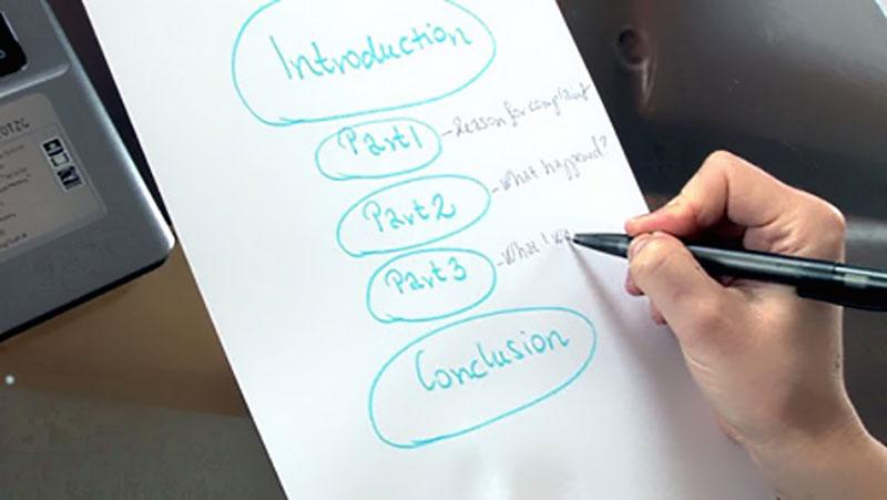 چگونه یک مقاله علمی را خلاصه کنیم؟ | طراحی پیشنویس